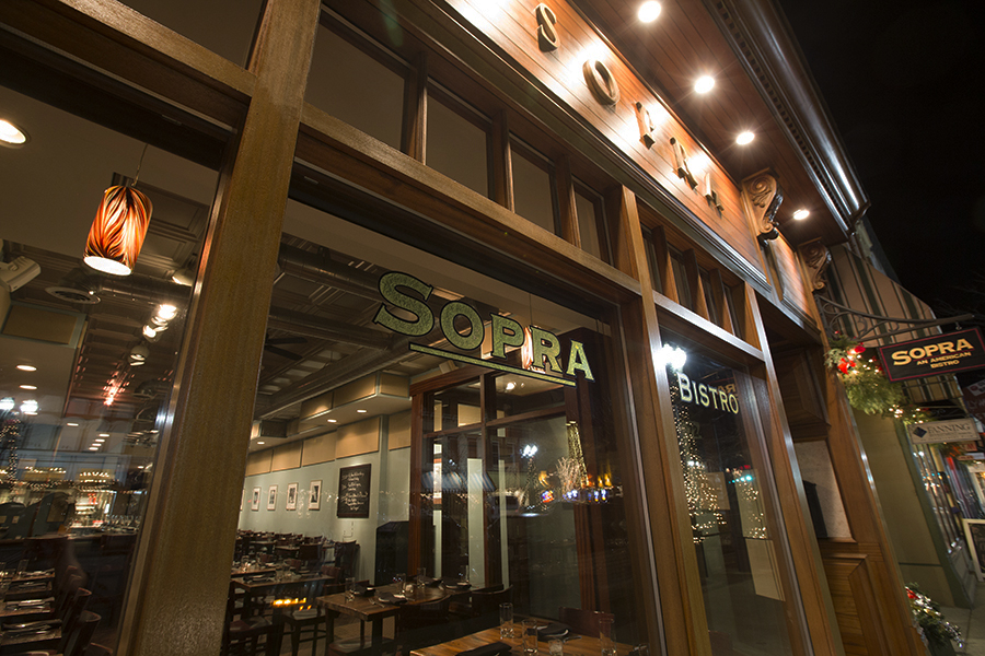Welcome to Sopra - Located in Lake Geneva, Sopra Bistro offers fine American dining from Chef Simon Cumming.