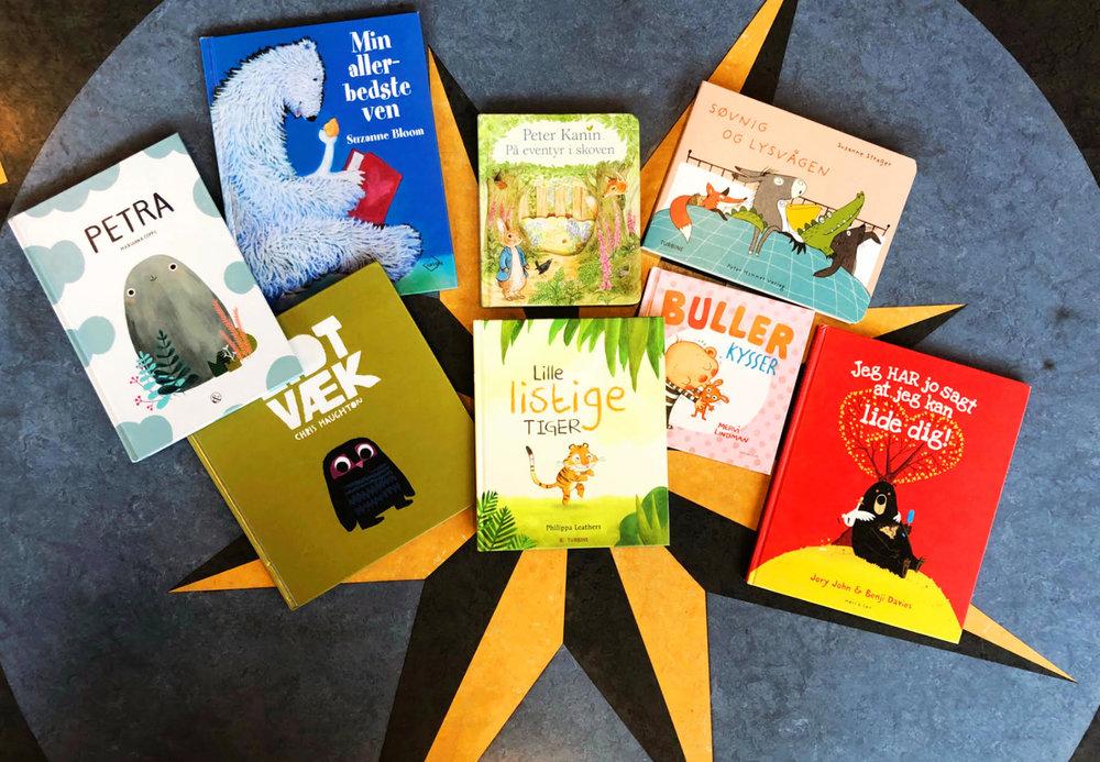 Alle bøgerne kan lånes eller bestilles på dit lokale bibliotek eller på bibliotek.dk -