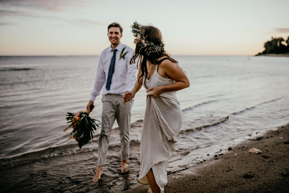 bohemian wedding oahu