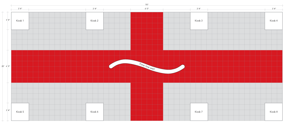 IFAI Centennial History Museum Floor Plan