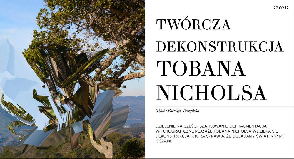 Feature.  Fine Life Magazine.  Poland. 2012.