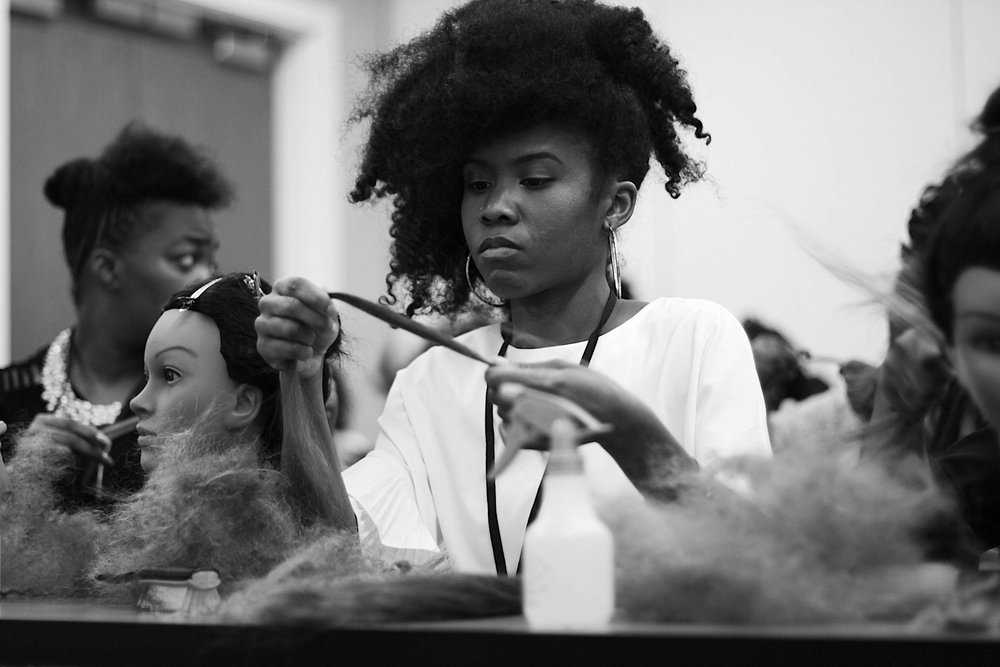 STEP 2 - Complete a full head of Goddess Locs on 2 qualifying clients and provide required documentation. Detailed instructions and Certification Package will be provided to all Qualified Stylists upon completion of the hands-on workshop