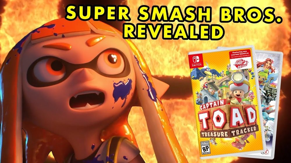 super smash bros is coming to nintendo switch 5 other games you