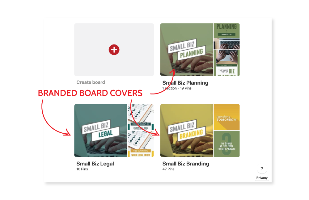 small biz start up guide branded board covers