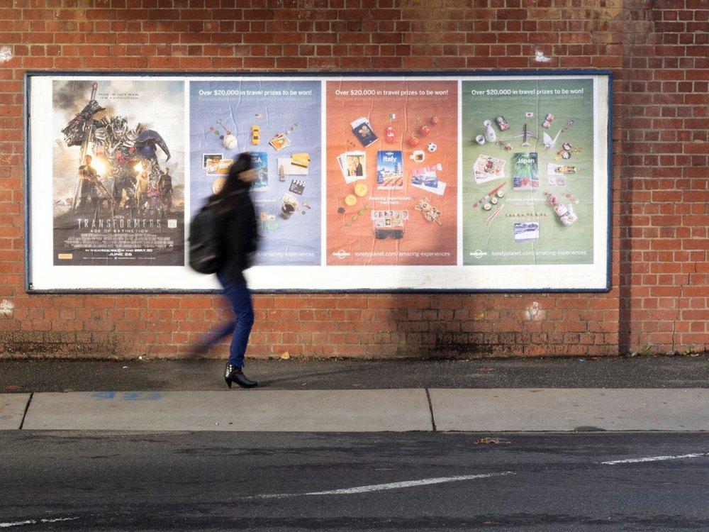 Ad campaign in print. - Sydney Australia