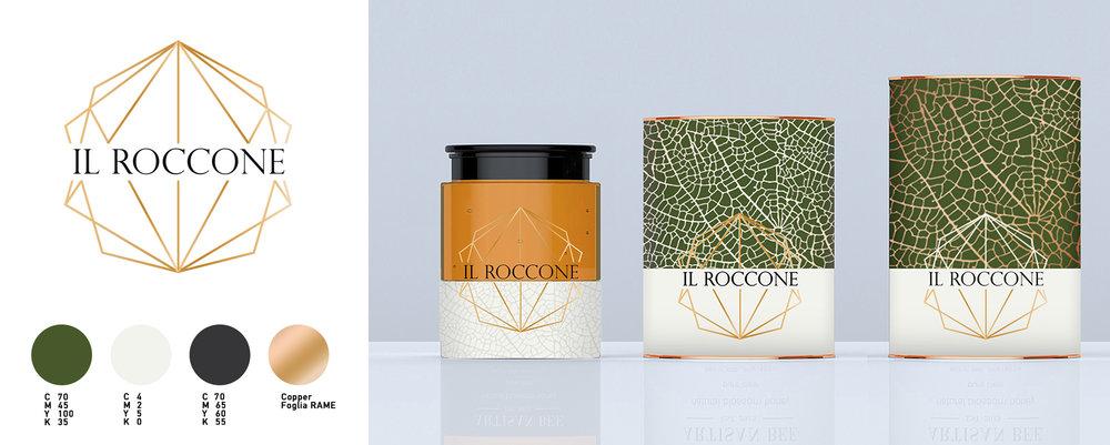 IL ROCCONE  // BRAND IDENTITY // GRAPHIC DESIGN // PACKAGING DESIGN