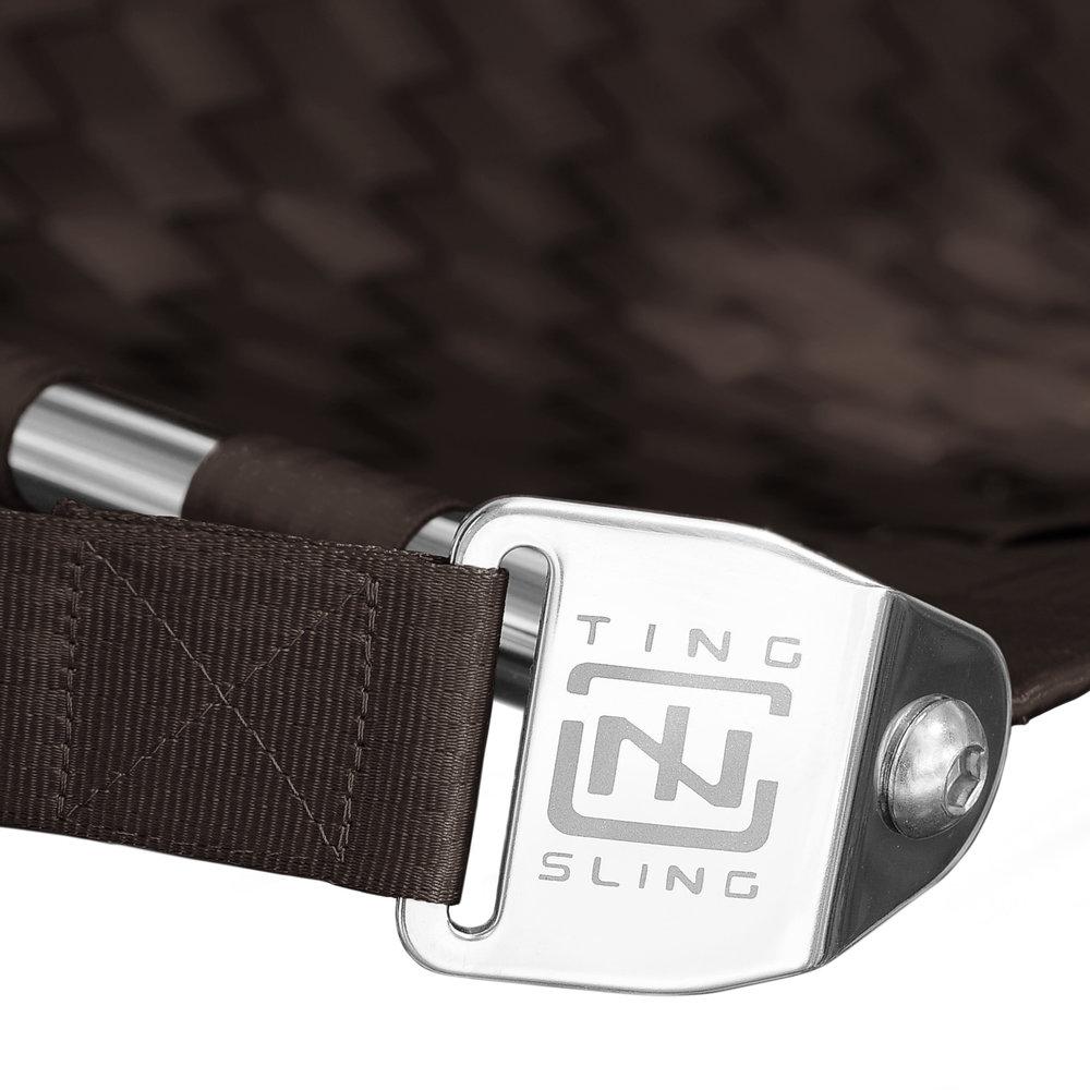 Brown Ting Sling Detail