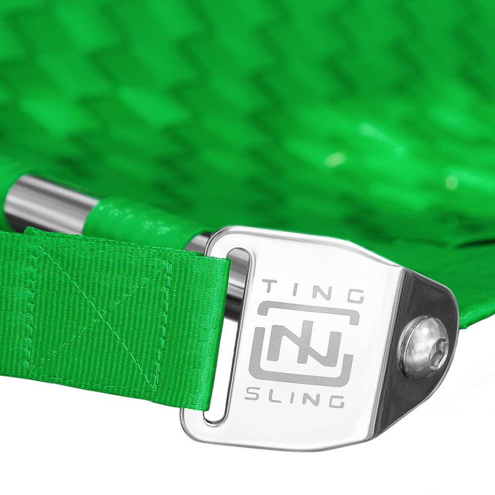 Lime Green Ting Sling Detail