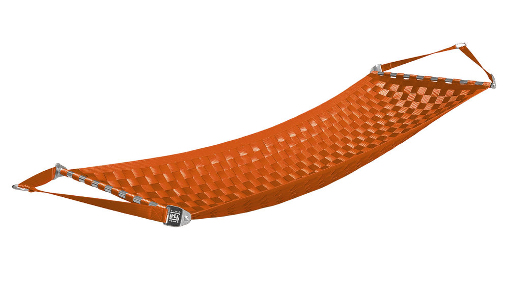 Orange Ting Sling Hammock