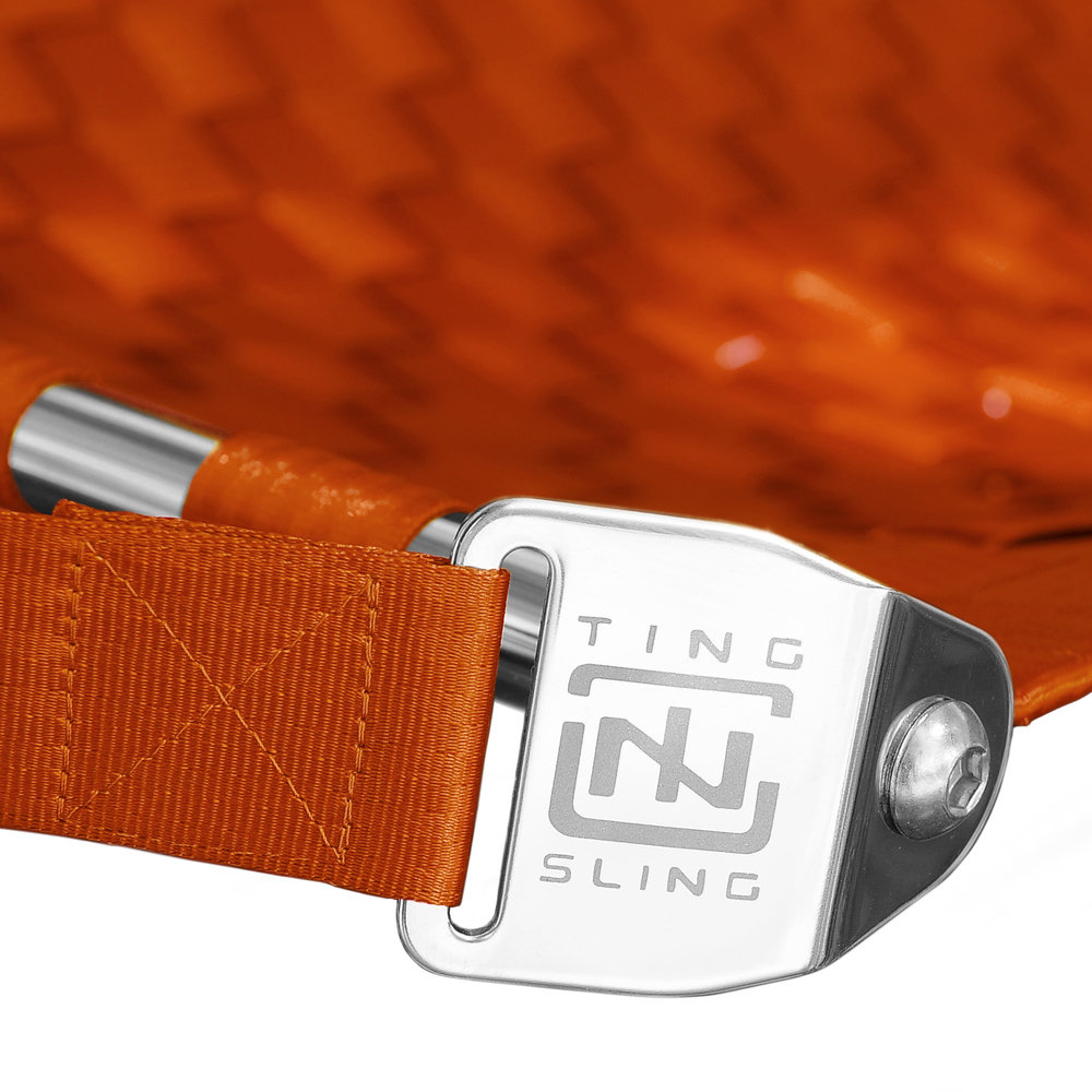 Orange Ting Sling Detail