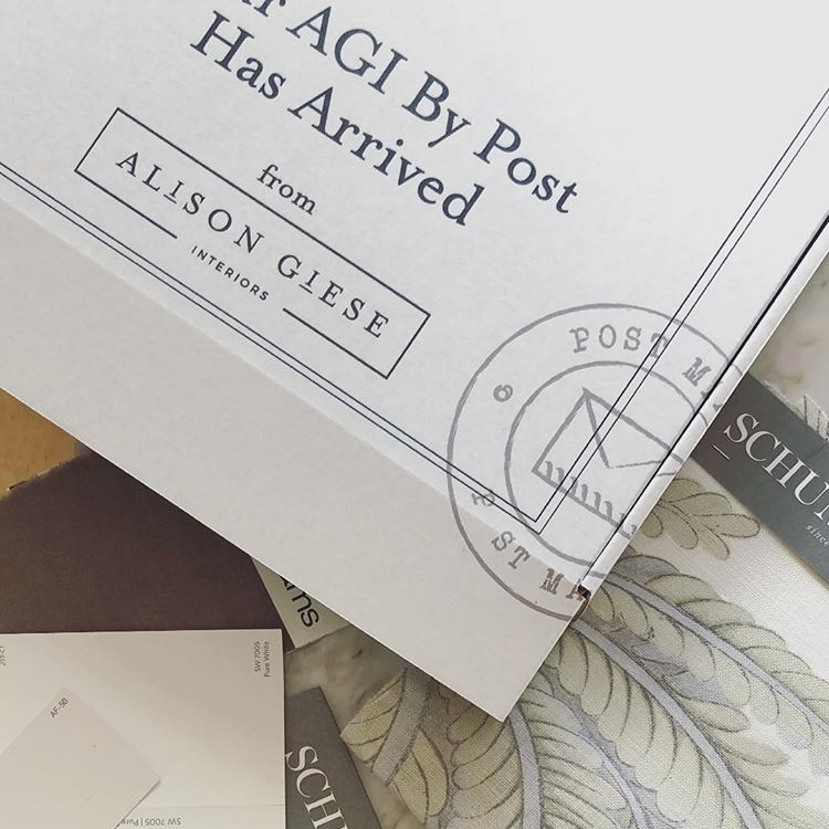 Alison Giese Interiors - Packaging Design