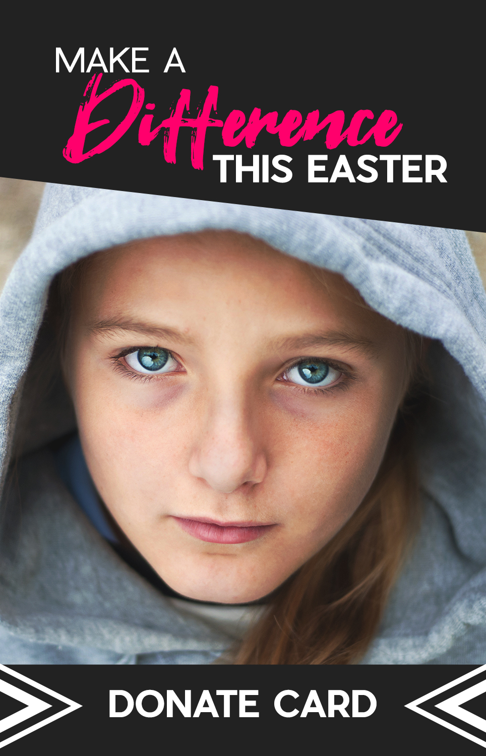 Make a Difference this Easter Donate Card