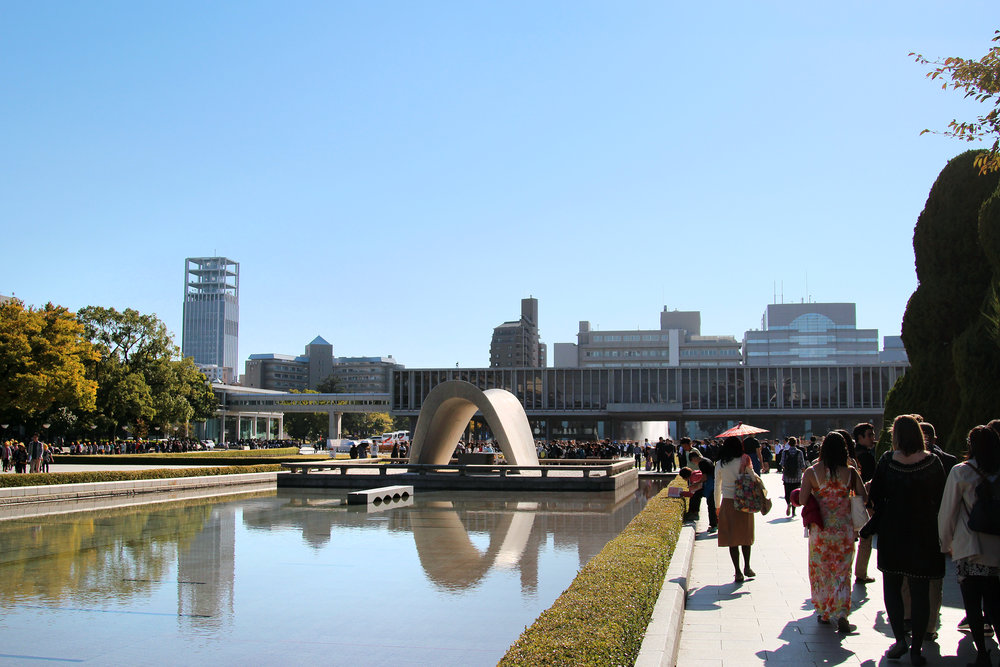 RESIDUAL SHOCK, RESIDUAL PEACE: HIROSHIMA MEMORIAL - What does it mean to condemn violence with images of the most extreme violence?