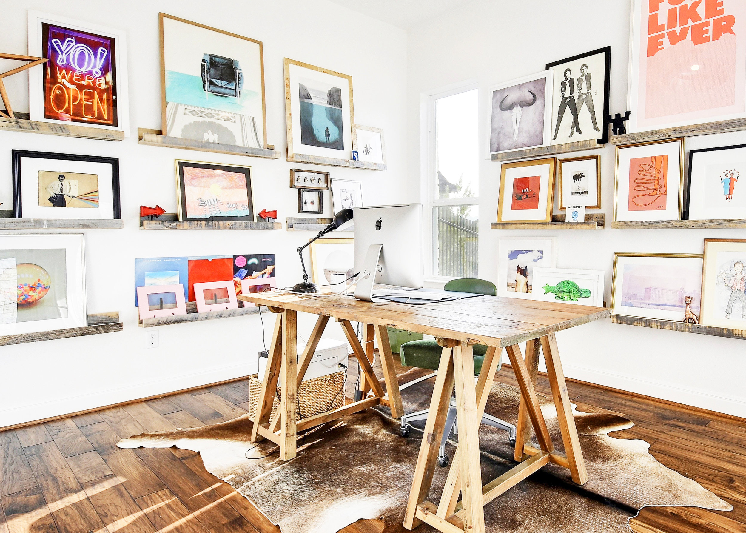 7 Beautiful Home Offices For Style U0026 Productivity