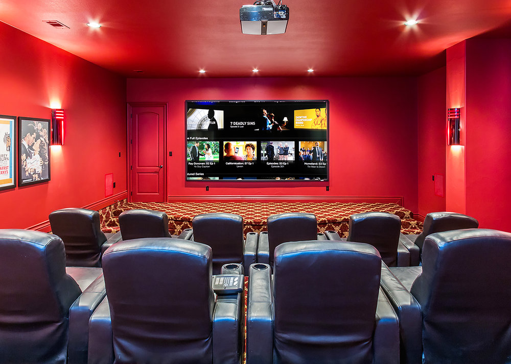 1509 Palomino Ridge Drive Media Room