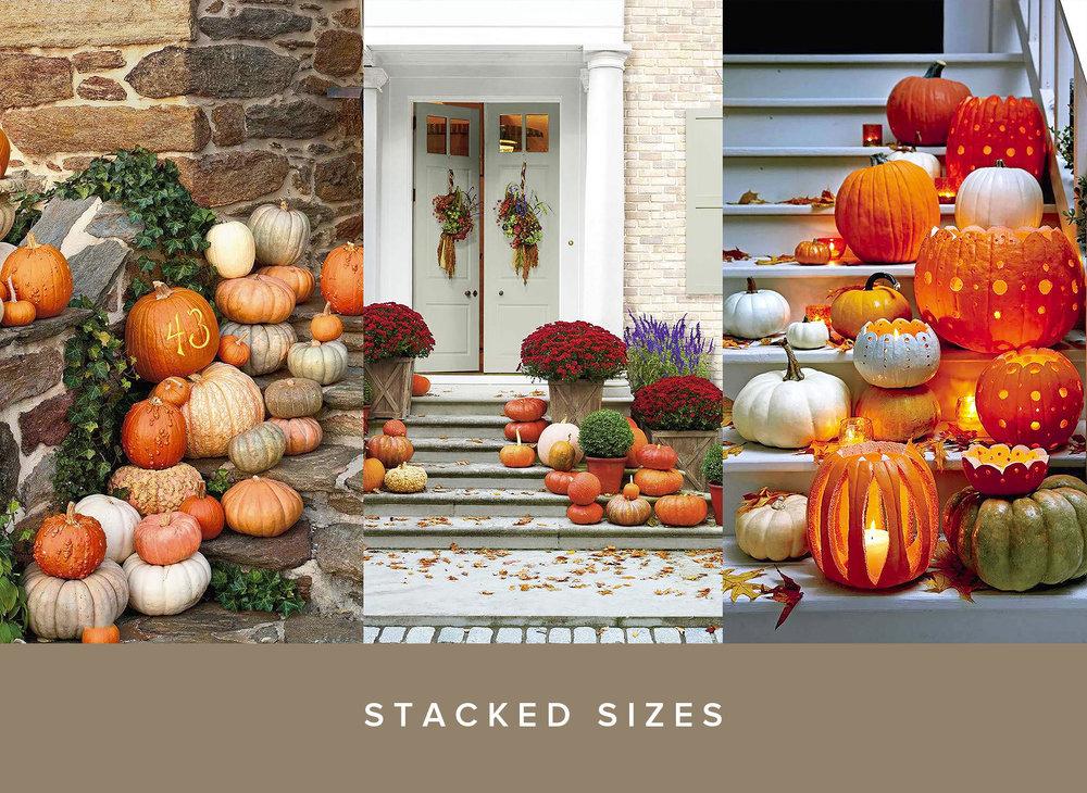 Pumpkin Door Decoration Stacked