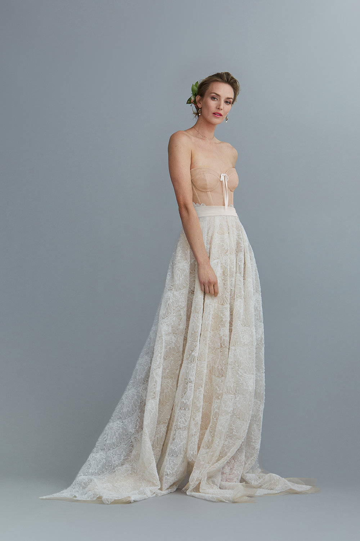 the bianca corset & angeline skirt