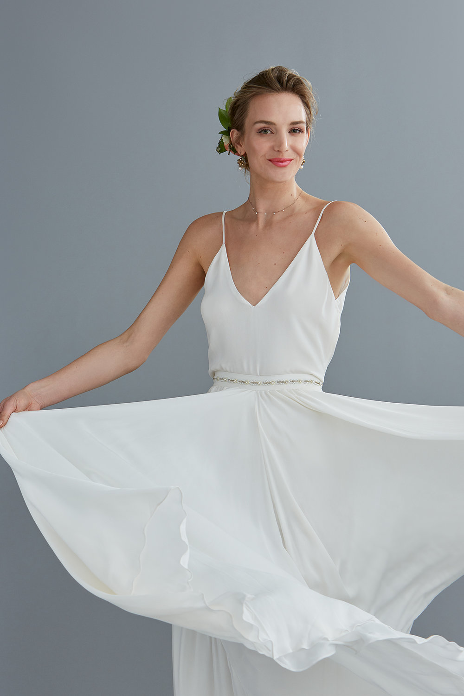the ava cami & giselle skirt - detail