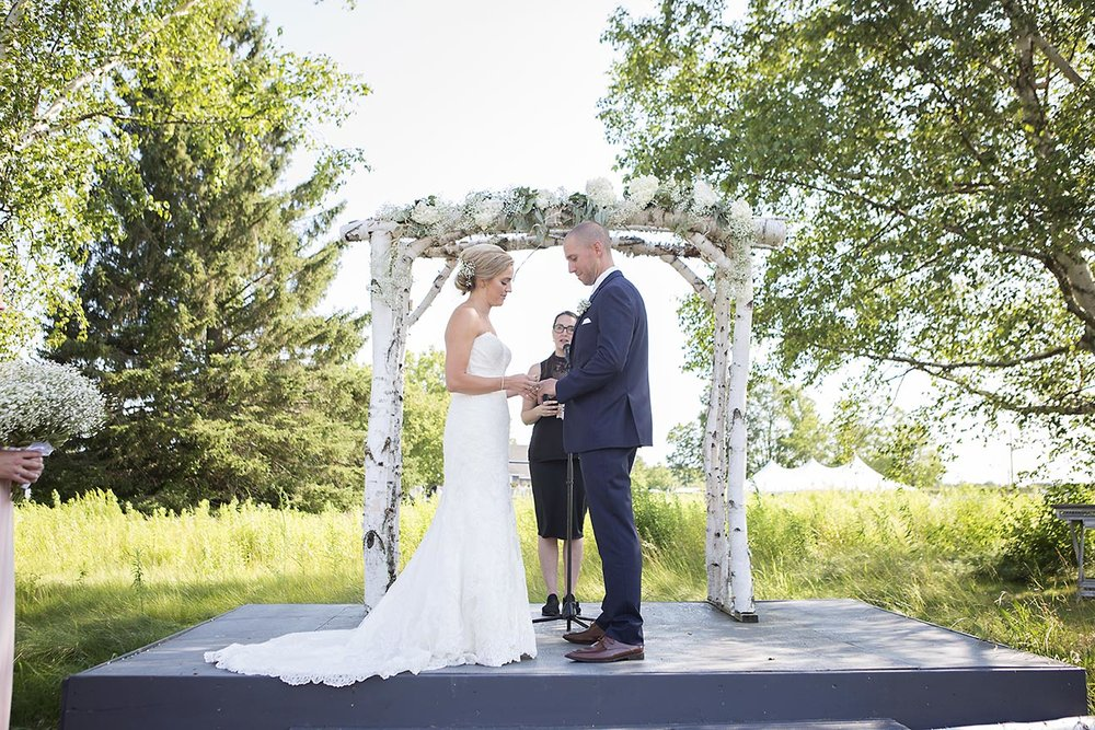 Rustic, Elegant + Chic   view wedding packages