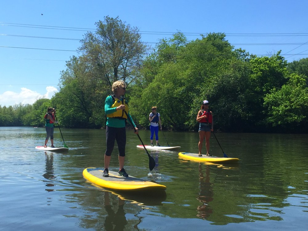 SUP MOM - MOTHER'S DAY PADDLE - Asheville, NC