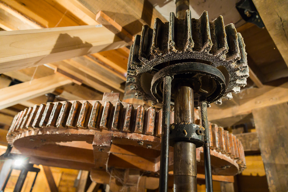 Water Mill Main Gear Train