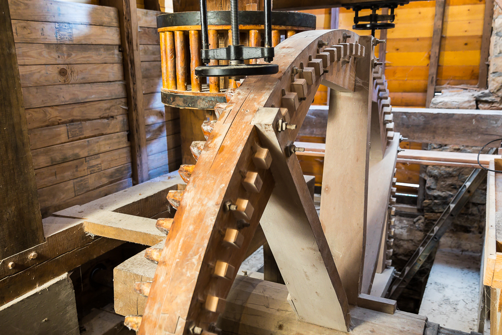Great Spur or Pit Wheel
