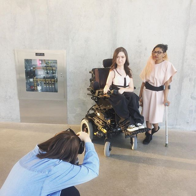 🚨SNEAK PEEK ALERT 🚨@massexodus_ru is creeping up! Be sure to grab your tickets and see these looks on the runway! . . . . . . . . . . . . . . . . #thefutureisaccessible #unform #unformdisability #reformfashion #accessibleclothing #ryersonfashion #torontofashion #massexodus #athleisure #toronto #TO #ryerson #RU #SLC
