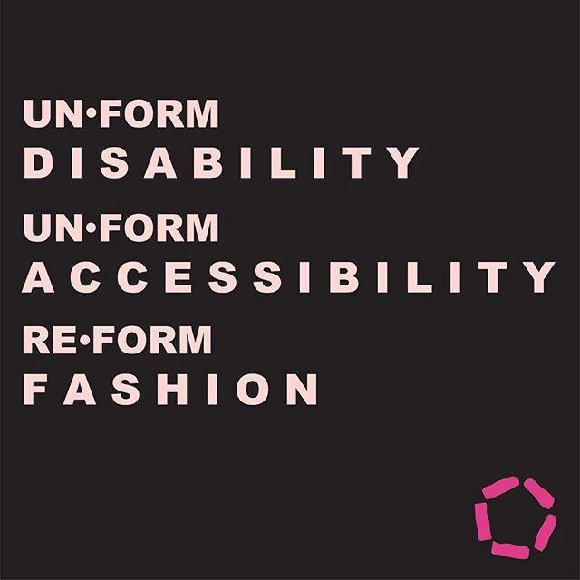 THE MISSION 🌸 #unformdisability  #unformaccessibility  #reformfashion . . . . . . #respectmyability #fashion #thefutureisaccessible #accessibleclothing #ryersonfashion #massexodus #adaptivedesign #reformnotconform #celebrateabilities