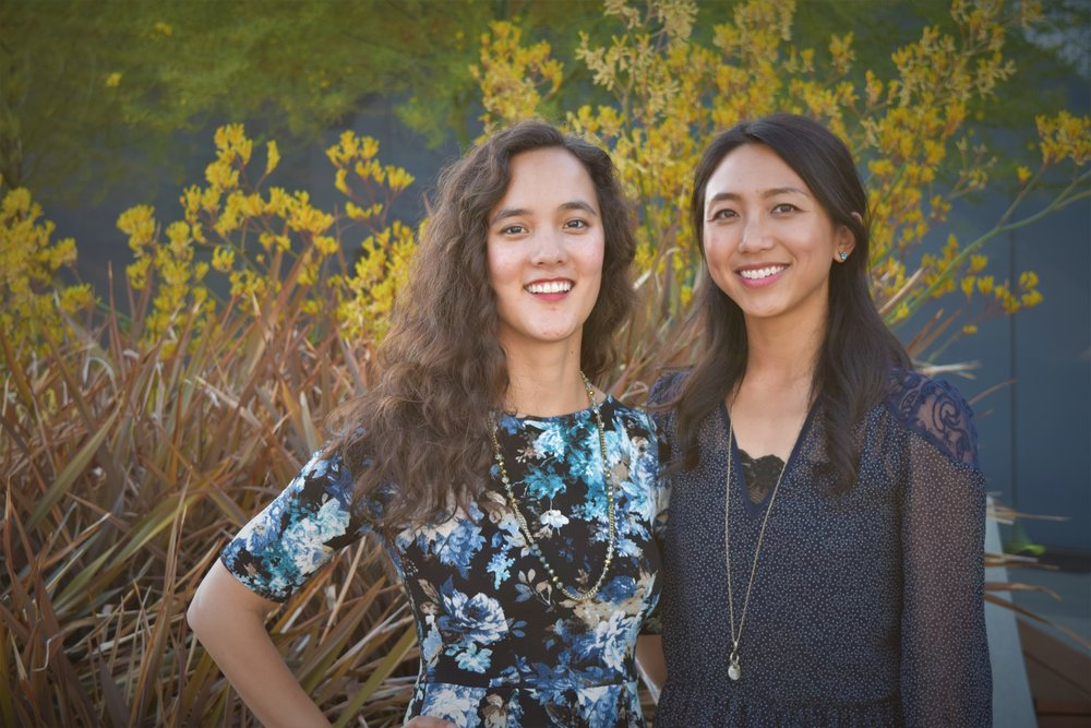Co-Founders Madeline Dangerfield-Cha and Joy Zhang