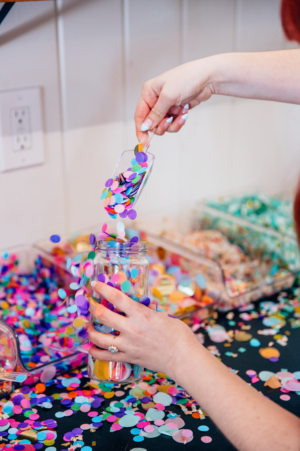 Time to make a jar of joy to sprinkle in a little fun into your day!