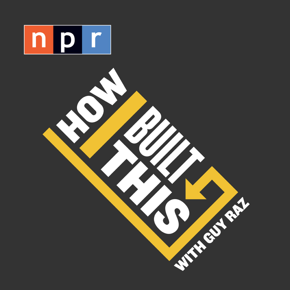 How I Built This - We love listening to women and men in all types of industries, but recently we've been focused on the food-related episodes and it just makes us want to quit everything we're doing and make ice cream for the rest of our lives (see Jeni's Splendid Ice Creams: Jeni Britton Bauer episode). Seriously speaking though, Guy Raz is a great host and we feel as blown away as he sounds by the stories of these entrepreneurs.I'm building an empire!