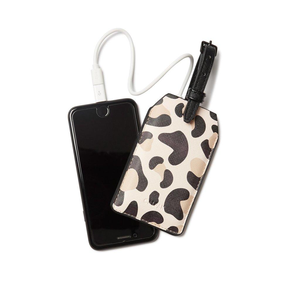 Power Luggage Tag - Leopard -
