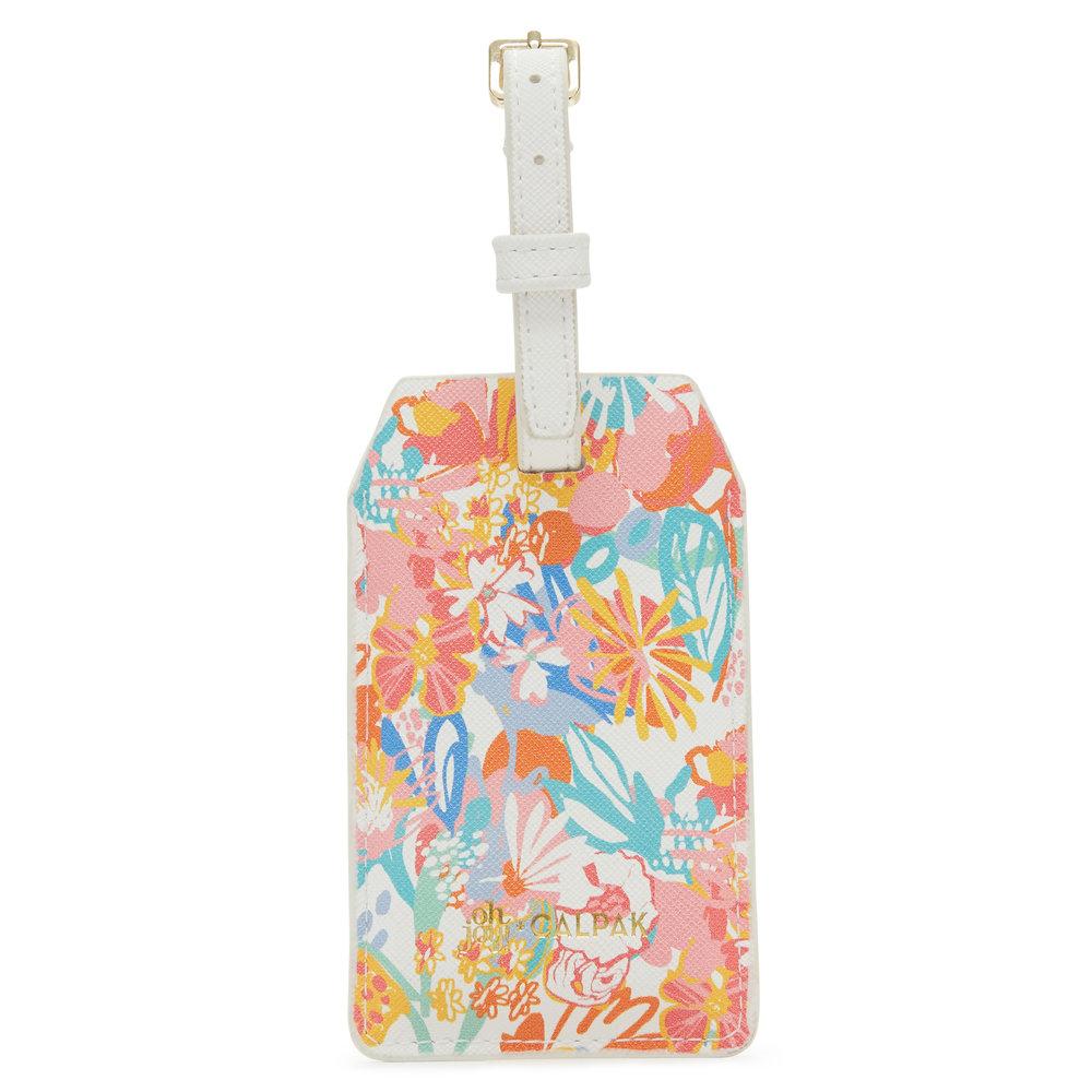 OhJoy! + CALPAK - Floral - Power Luggage Tag -