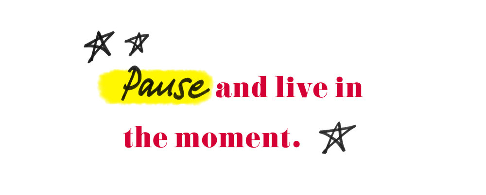 "Quote by Nastia Liukin - ""Pause and live in the moment."""