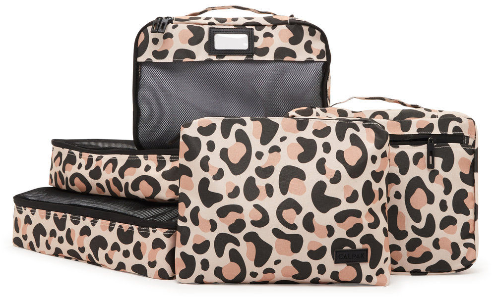 Packing Cubes - Leopard - 5-Piece Set -