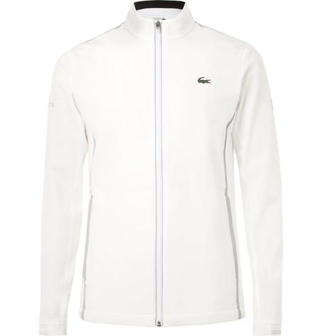 Lacoste Tennis Novak Djokovic Stretch-Jersey Zip-Up Jacket  - $185
