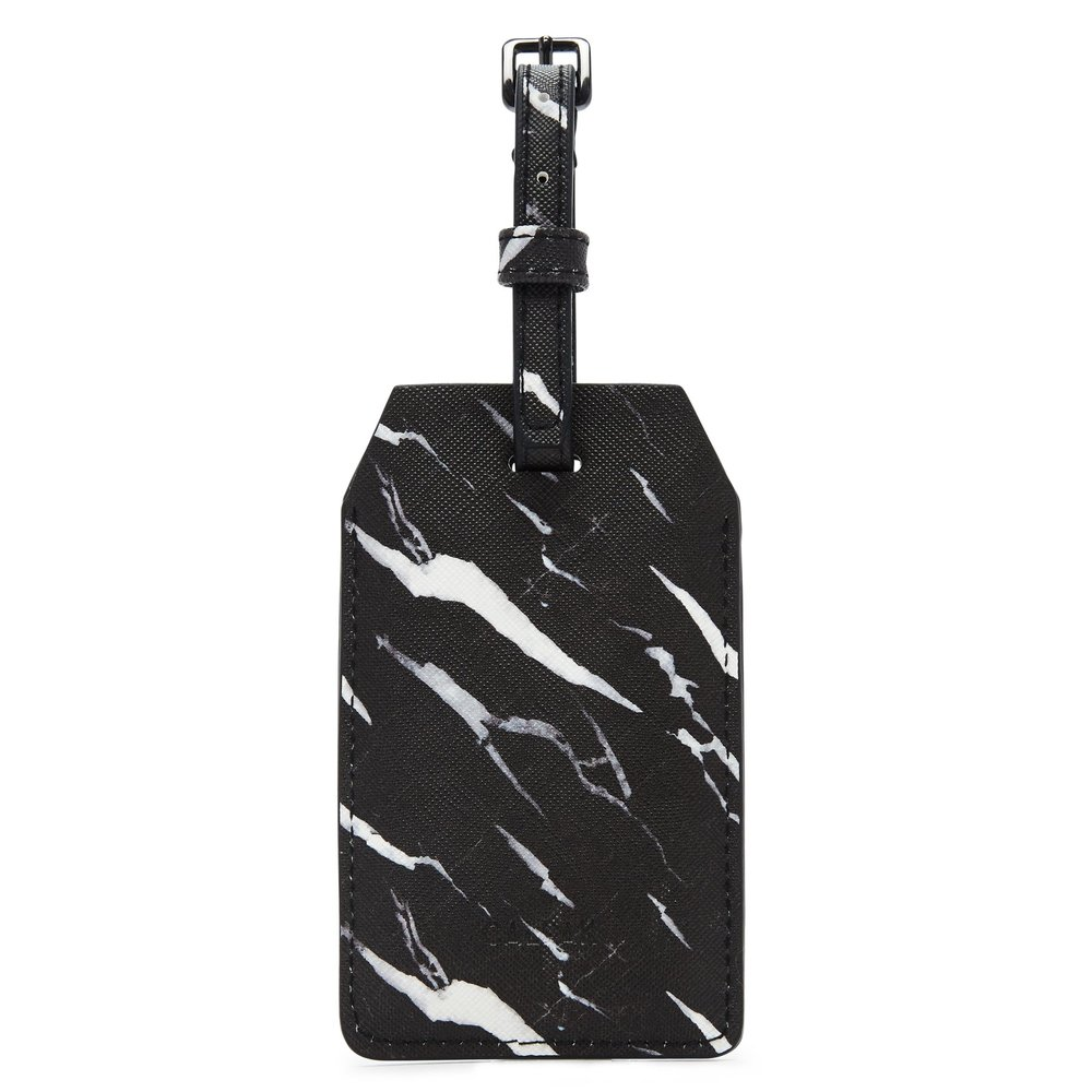 Power Luggage Tag - Midnight Marble -