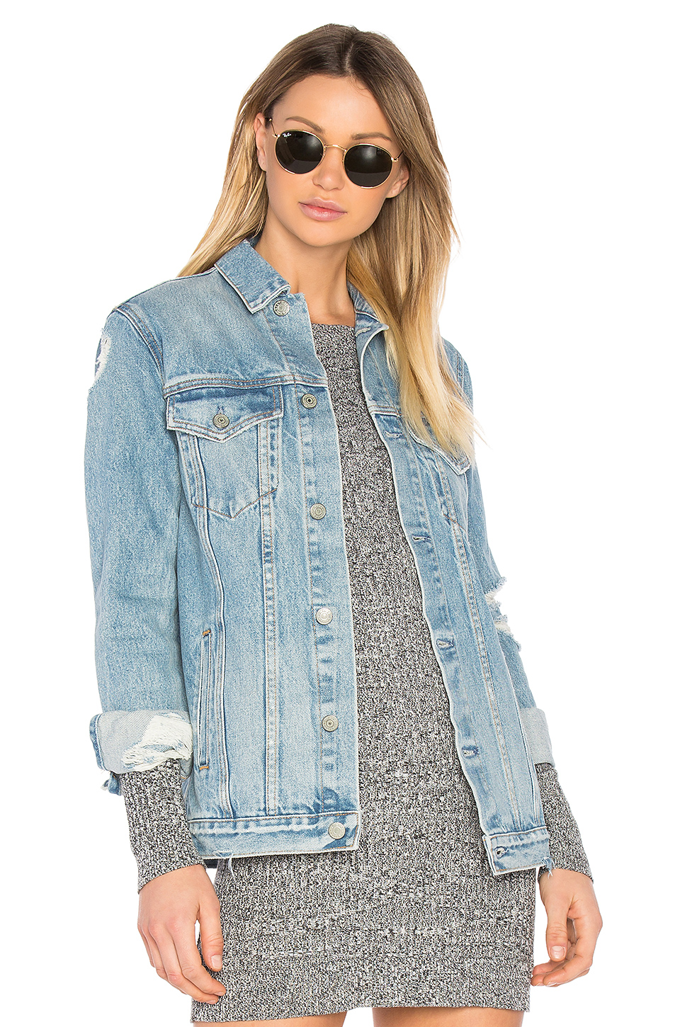 GRLFRND Denim Jacket