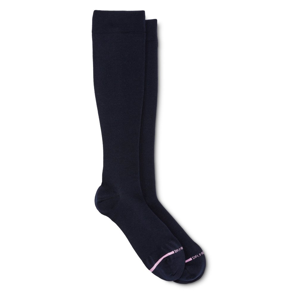 Dr. Motion Women's Mild Compression Knee High Socks