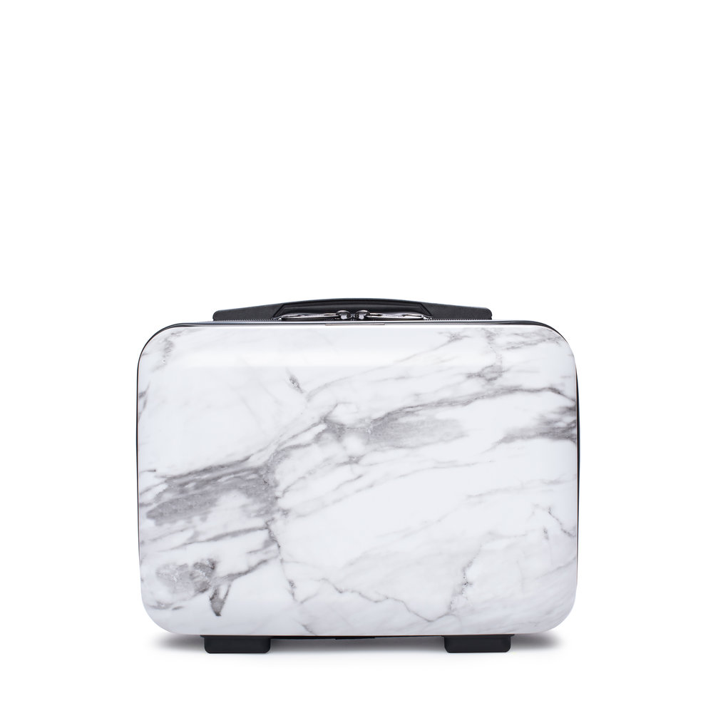 Vanity Case - Milk Marble -