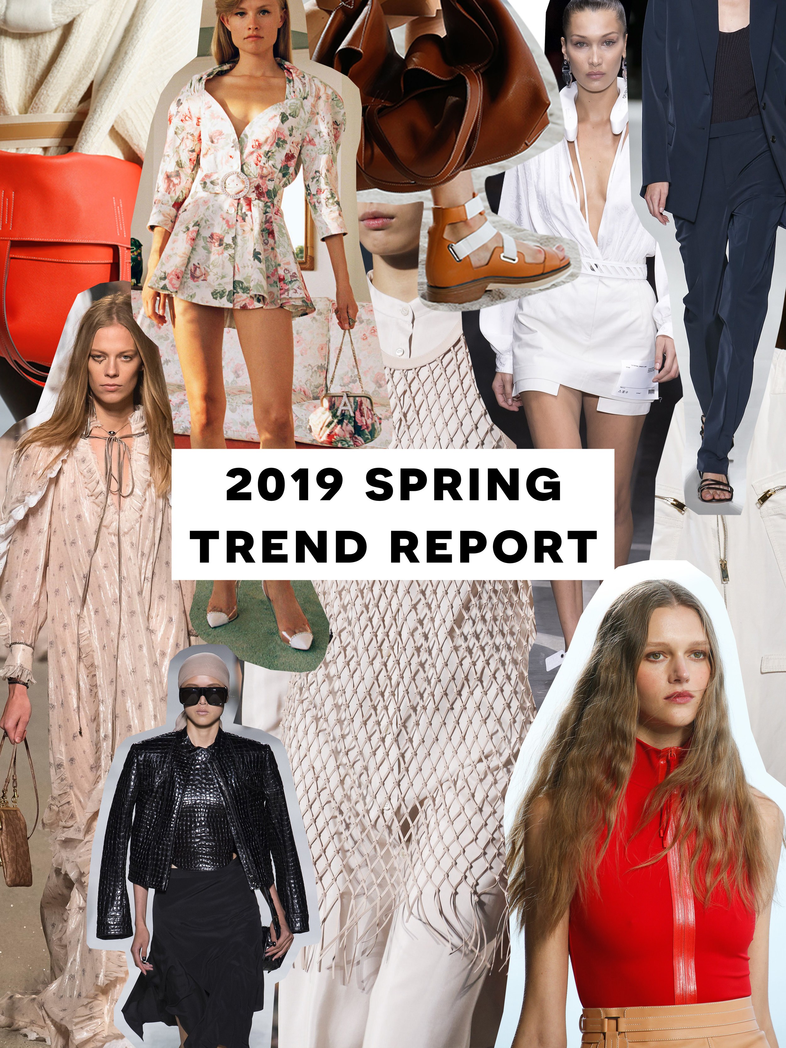 An Easy-To-Digest Trend Report From Spring 2019 Fashion Week