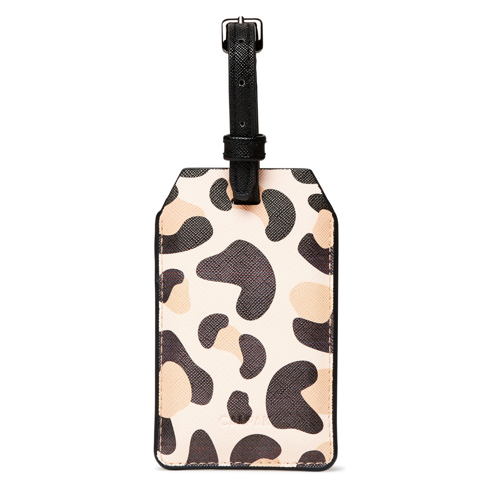 Power Luggage Tag - Leopard