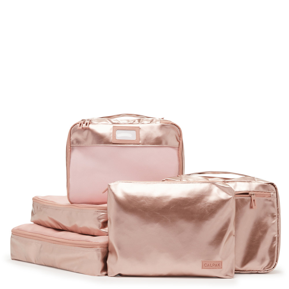 Packing Cubes - Rose Gold