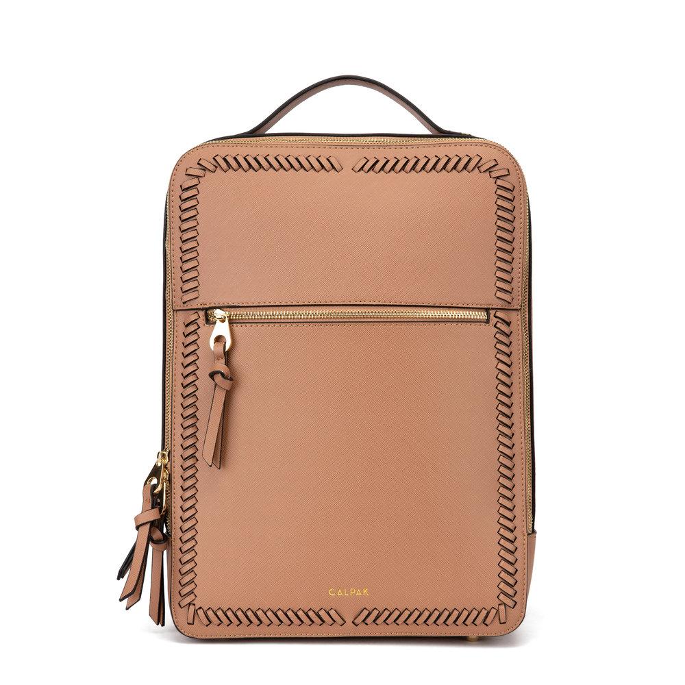 Kaya Laptop Backpack - Caramel