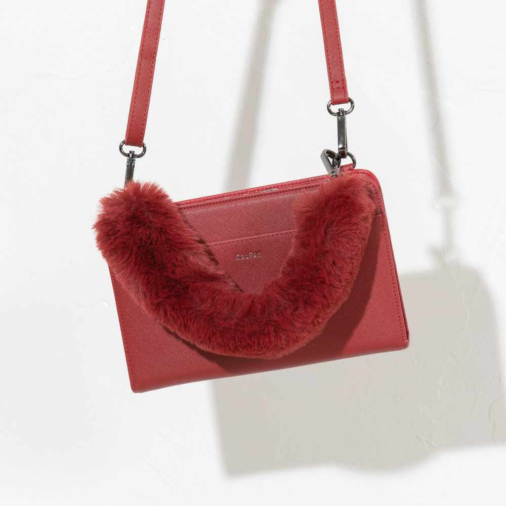 Travel Wallet - Red -