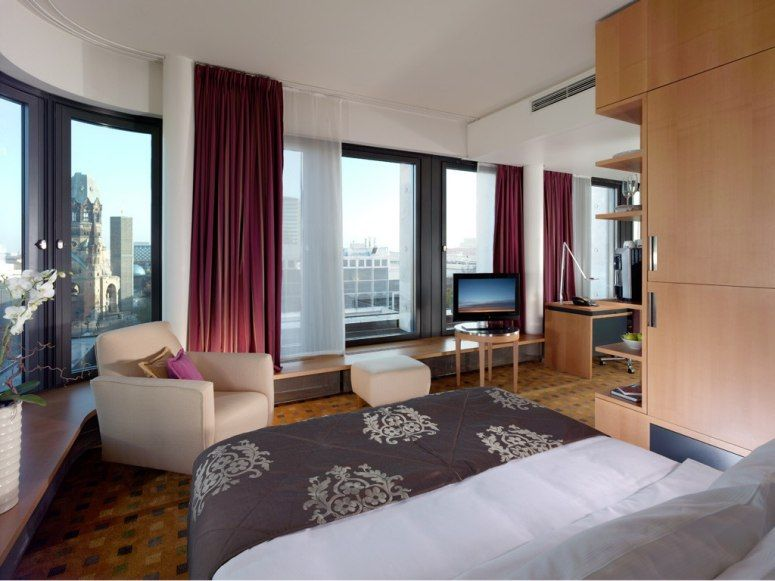 Swissotel (Berlin, Germany) - Deep Sleep Package     AMENITIES:  The Deep Sleep Package includes light therapy, power napping, breathing thin air, aromatherapy, selected dietary supplements, and sleep improvement with the aid of binaural beats.