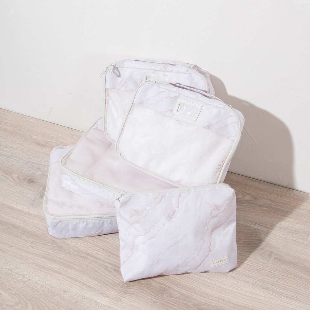 Packing Cubes - Gold Marble -