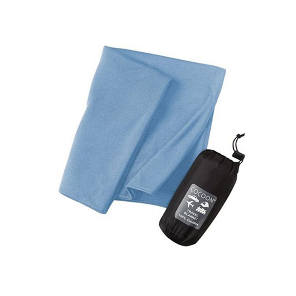 Cocoon CoolMax Blanket - Don't you hate when it's either too cold or too hot in the car? If you're a passenger, the worst part is, you probably don't have any control over the air conditioner or heater. Play it safe and bring your own compact blanket with you. This one is warm, yet breathable and small enough to pack away when it's not in use.