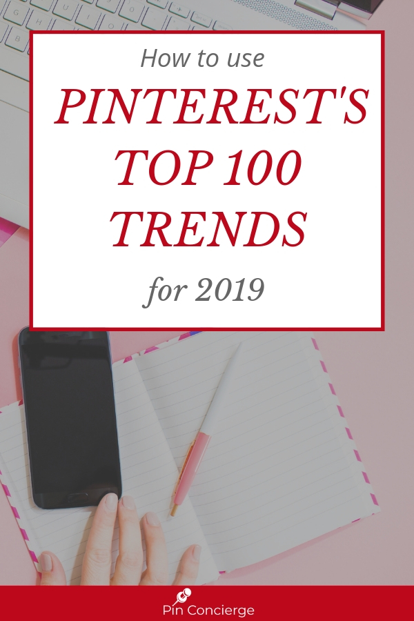How can you use Pinterest's Top 100 trends report in your Pinterest marketing strategy? Let's talk about those trends and what to be pinning in February on the Pin Concierge Podcast. #pinterestmarketing #pinconcierge #TrendingOnPinterest