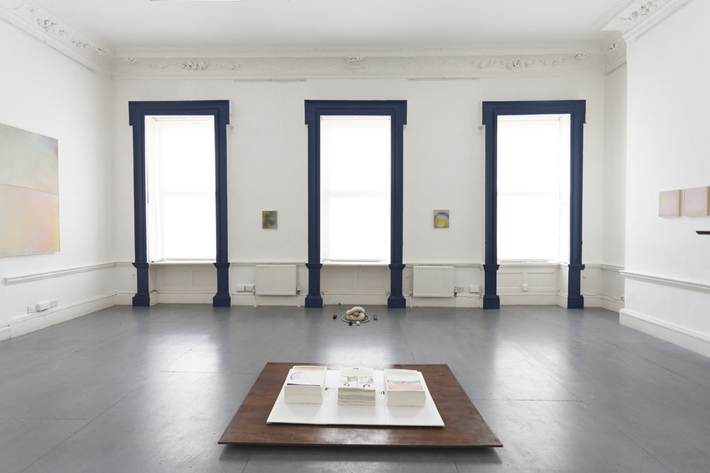 paper thin walls (install),  2017 eight gallery dublin